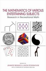 The Mathematics of Various Entertaining Subjects 1st Edition 9780691164038 0691164037