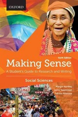 Making Sense in the Social Sciences 6th Edition 9780199010196 0199010196
