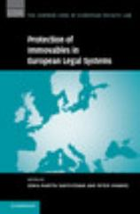 The Protection of Immovables in European Legal Systems 1st Edition 9781107121928 1107121922