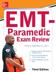 McGraw-Hill Education's EMT-Paramedic Exam Review, Third Edition 3rd Edition 9780071849012 0071849017