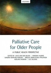 Palliative care for older people 1st Edition 9780198717614 019871761X
