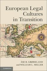 European Legal Cultures in Transition 1st Edition 9781107050358 1107050359