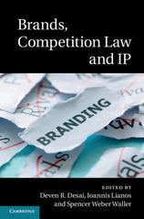 Brands, Competition Law and IP 1st Edition 9781107103467 1107103460