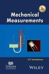 Mechanical Measurements 2nd Edition 9781119115564 1119115566