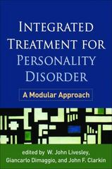 Integrated Treatment for Personality Disorder 1st Edition 9781462522897 1462522890