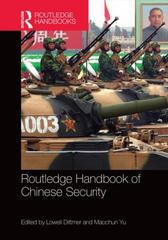 Routledge Handbook of Chinese Security 1st Edition 9780415855433 0415855438
