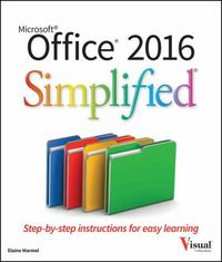 Office 2016 Simplified 1st Edition 9781119074748 1119074746