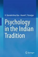 Psychology in the Indian Tradition 1st Edition 9788132224402 813222440X