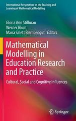 Mathematical Modelling in Education Research and Practice 1st Edition 9783319182728 3319182722