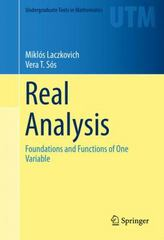 Real Analysis 1st Edition 9781493927661 1493927663