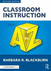 Classroom Instruction from A to Z 2nd Edition 9781317387329 1317387325