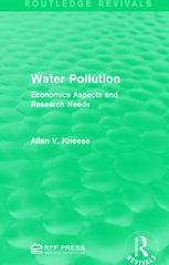 Water Pollution 1st Edition 9781317387565 1317387562