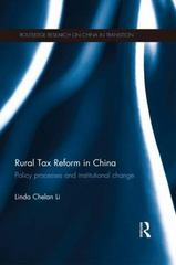 Rural Tax Reform in China 1st Edition 9781138937406 1138937401