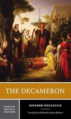The Decameron 1st Edition 9780393935622 0393935620