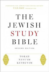 The Jewish Study Bible 2nd Edition 9780190263898 019026389X