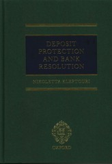 Deposit Protection and Bank Resolution 1st Edition 9780191060748 0191060747