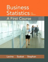 Business Statistics 7th Edition 9780134190747 0134190742