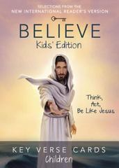 Believe Key Verse Cards: Children 1st Edition 9780310886457 0310886457
