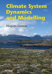 Climate System Dynamics and Modelling 1st Edition 9781107445833 1107445833