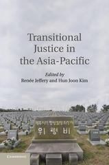 Transitional Justice in the Asia-Pacific 1st Edition 9781107546219 1107546214