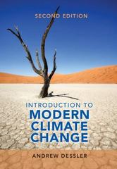 Introduction to Modern Climate Change 2nd Edition 9781107480674 1107480671