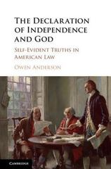 The Declaration of Independence and God 1st Edition 9781107088184 1107088186