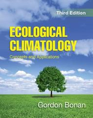 Ecological Climatology 3rd Edition 9781107619050 110761905X