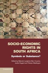 Socio-Economic Rights in South Africa 1st Edition 9781107546226 1107546222