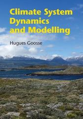 Climate System Dynamics and Modelling 1st Edition 9781316028698 1316028690