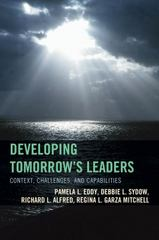 Developing Tomorrow's Leaders 1st Edition 9781475811018 1475811012