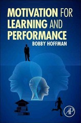 Motivation for Learning and Performance 1st Edition 9780128007792 0128007796