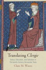 Translating Clergie 1st Edition 9780812247725 0812247728