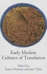 Early Modern Cultures of Translation 1st Edition 9780812247404 081224740X