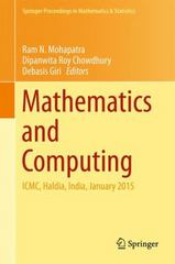Mathematics and Computing 1st Edition 9788132224518 8132224515