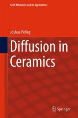 Diffusion in Ceramics 1st Edition 9783319184371 3319184377