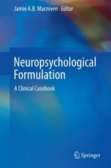 Neuropsychological Formulation 1st Edition 9783319183374 3319183370