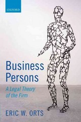 Business Persons 1st Edition 9780198746461 0198746466