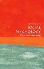 Social Psychology: A Very Short Introduction 1st Edition 9780191024771 0191024775
