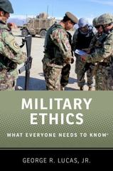 Military Ethics 1st Edition 9780199336883 0199336881