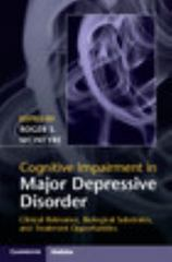 Cognitive Impairment in Major Depressive Disorder 1st Edition 9781107074583 1107074584