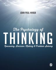 The Psychology of Thinking 1st Edition 9781446272473 1446272478