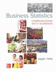 Business Statistics 2nd Edition 9780078020551 0078020557