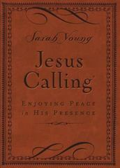 Jesus Calling - Deluxe Edition Brown Cover 1st Edition 9780718042820 0718042824