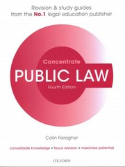 Public Law Concentrate 4th Edition 9780198729686 0198729685