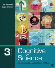 Cognitive Science 3rd Edition 9781483347417 1483347419