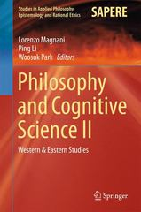 Philosophy and Cognitive Science II 1st Edition 9783319184791 3319184792