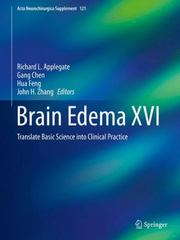 Brain Edema XVI 1st Edition 9783319184968 3319184962