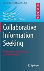 Collaborative Information Seeking 1st Edition 9783319185415 3319185411
