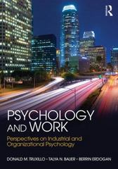 Psychology and Work 1st Edition 9781848725089 1848725086