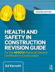 Health and Safety in Construction Revision Guide 2nd Edition 9781317423980 1317423984